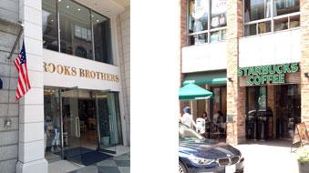 Brooks Brothers,スターバックス